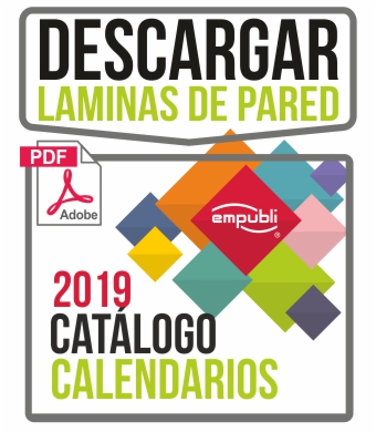 Catalogo calendarios de Pared