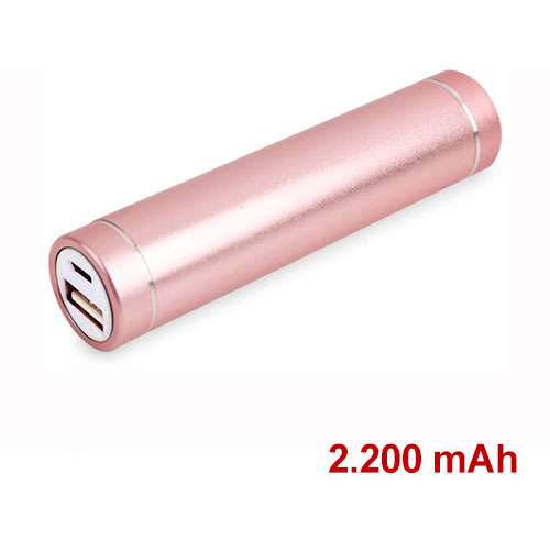 POWER BANK ALUMINIO C-077 REDONDO