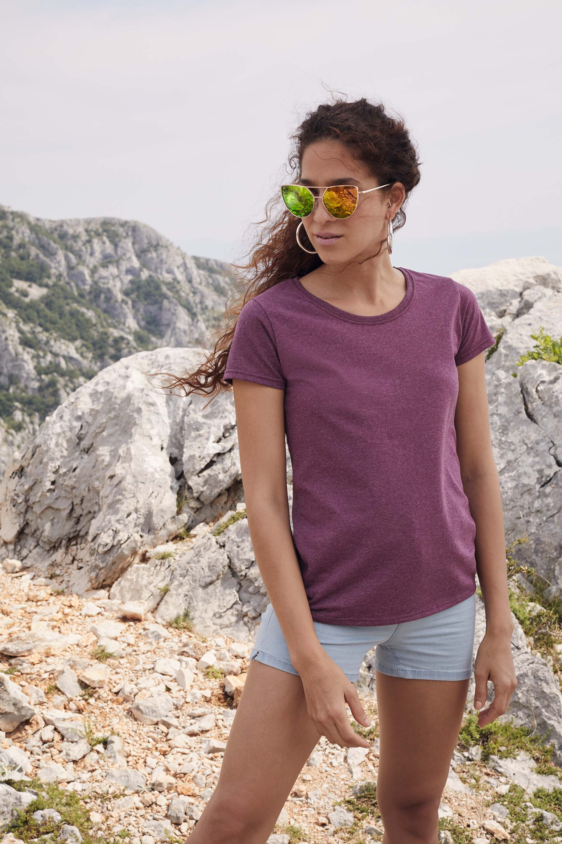 CAMISETA VALUEWEIGHT COLOR MUJER