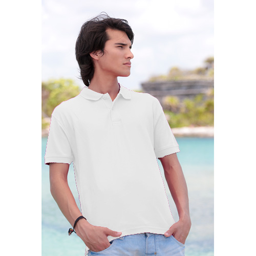 POLO JHK REGULAR MAN BLANCO